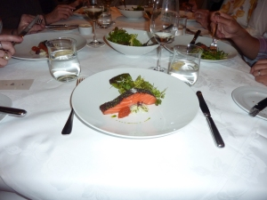 Confit of Petuna Ocean Trout