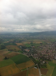 Coming in to Zurich