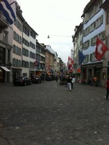Lane way Zurich