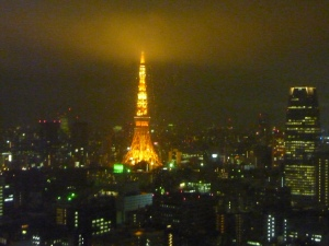 Tokyo Tower by night