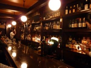 The bar at Brick
