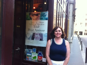 Yours truly outside Le Grand Colbert