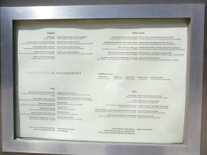 Menu Locanda Locatelli