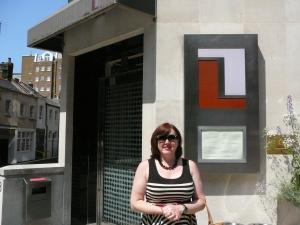 Me outside Locanda Locatelli