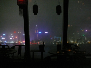 It's raining, it's pouring, but nobody was snoring with this view
