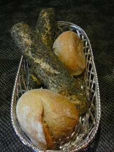 Fresh bread rolls