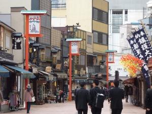 Back streets, Asakusa