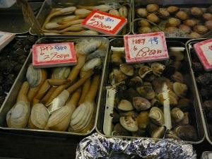 Horseneck clams