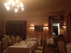 Interior, Hordern's restaurant, Milton Park