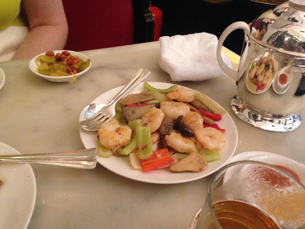 Lunch at The China Club, Hong Kong (4/6)