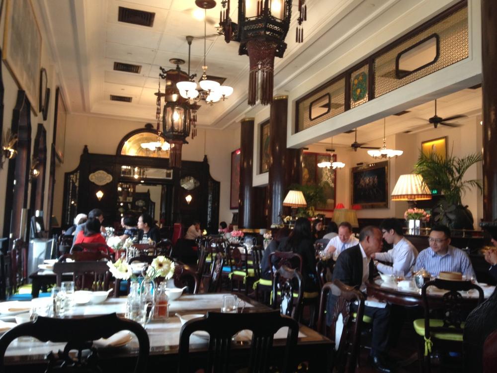 Lunch at The China Club, Hong Kong (2/6)