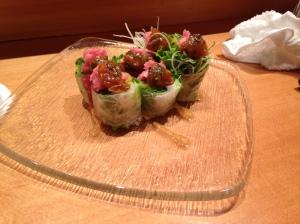 Tuna rolls