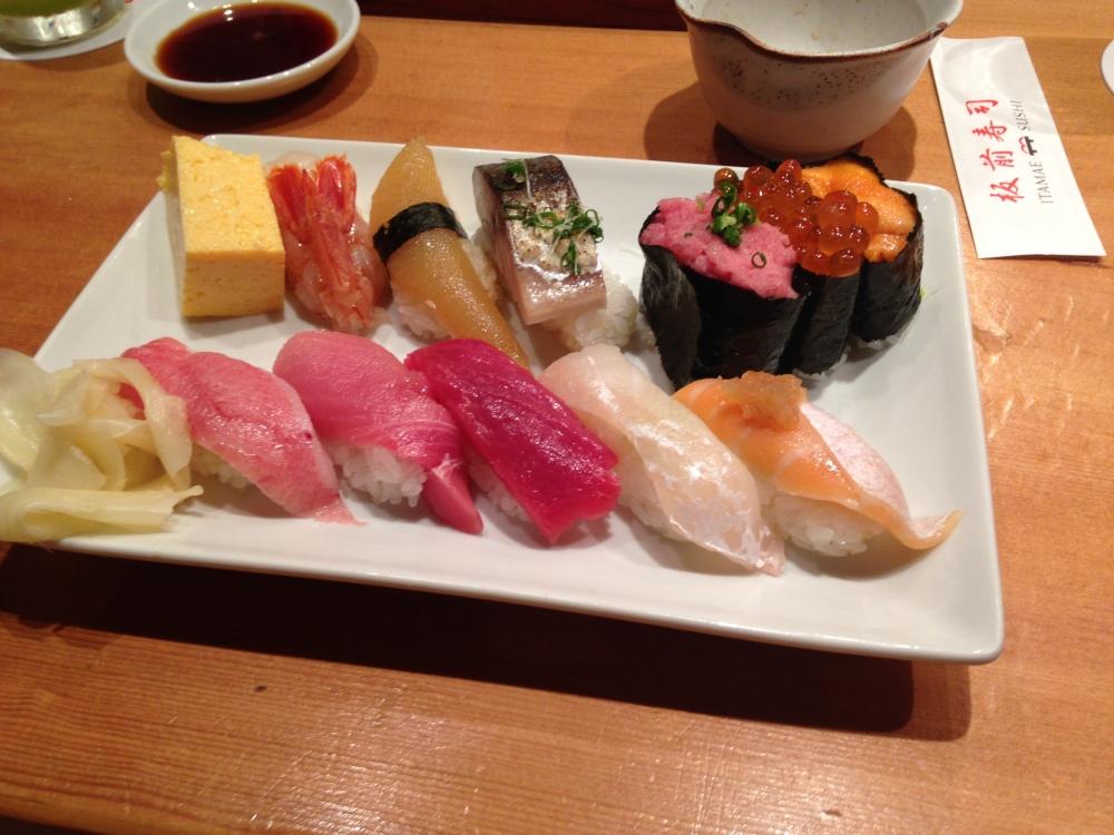 Itamae Sushi, Ginza, Tokyo (5/6)