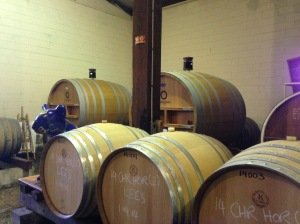 Barrels , Cassegrain Winery
