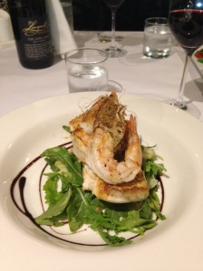Snapper and Yamba prawns