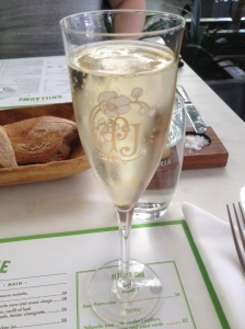 Perrier Jouet and Pain d'Epi