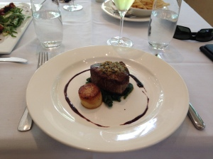 Cape Grim Eye fillet, fondant potato, cafe de Paris butter