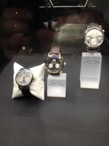 A Lange & Söhne watches, Datograph variants and Zeitwerk