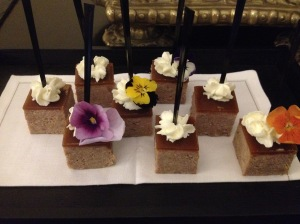 Yum Foie Gras Canapes, Beau Rivage, Geneva