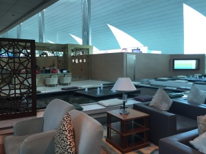 Emirates First Class Lounge Dubai