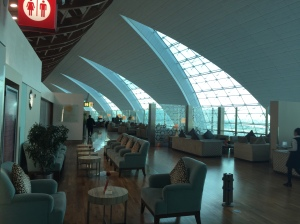Emirates First Class Lounge Duba