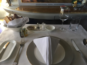 Emirates First Class Dubai to Geneva