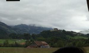 Looking towards Gruyères