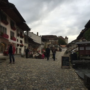 The town of Gruyères