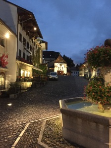 Twilight in Gruyères