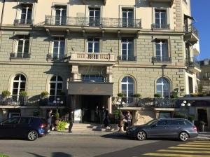 Exterior, Beau Rivage, Geneva