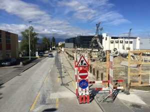 Patek Philippe construction zone