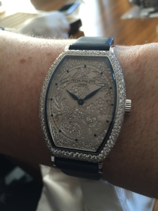 Patek Philippe, WG Gondolo (only 480 diamonds there)