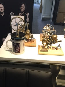 Bohm Stirling engines including the coffee heat powered one