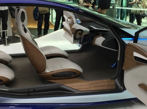Nissan concept car - IDS interior