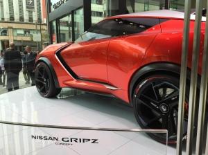 Nissan concept car - Gripz