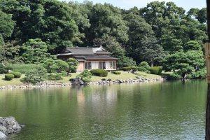 Matsu-no-ochaya - tea house in Hama-Rikyu
