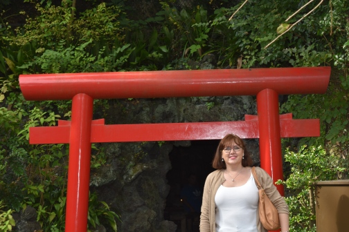 Entrance to Benten-Do Hall and Benten-Kutsu Cave