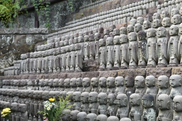 Jizo outside Jizo-Do Hall