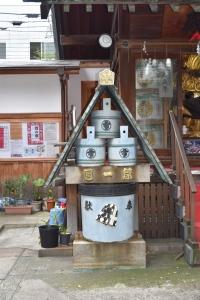 Namiyoke Inari Shrine, Tsukiji