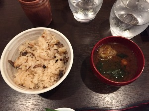 Lunch at Hanabou