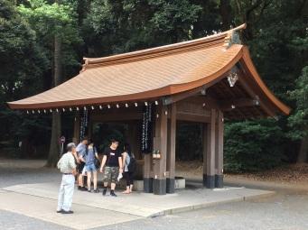 Fresh copper roof Meiji-Jingu