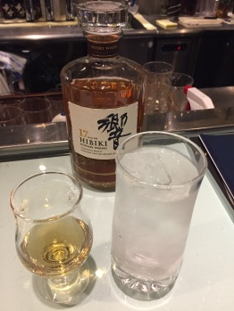 Hibiki 17 Year old straight with 2 drops of water only