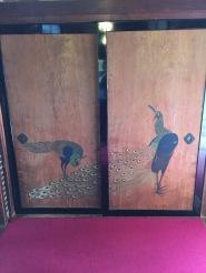 Painted door