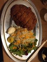 Pork Katsu with salad