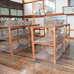 Baskets for personal belongings