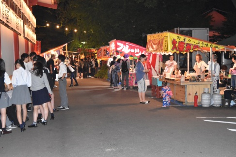 Food stalls, Hie Shrine